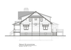 New Bedford Road Right Elevation