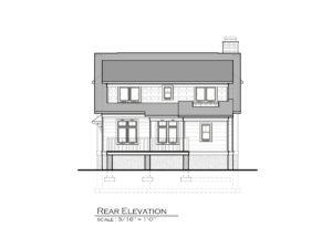 New Bedford Road Rear Elevation