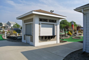 Miniature Golf Course Booth