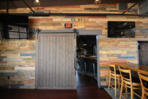 Whiskey Tavern Barn Door